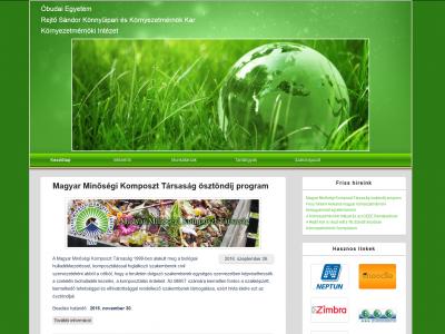 Környezetmérnöki Intézet